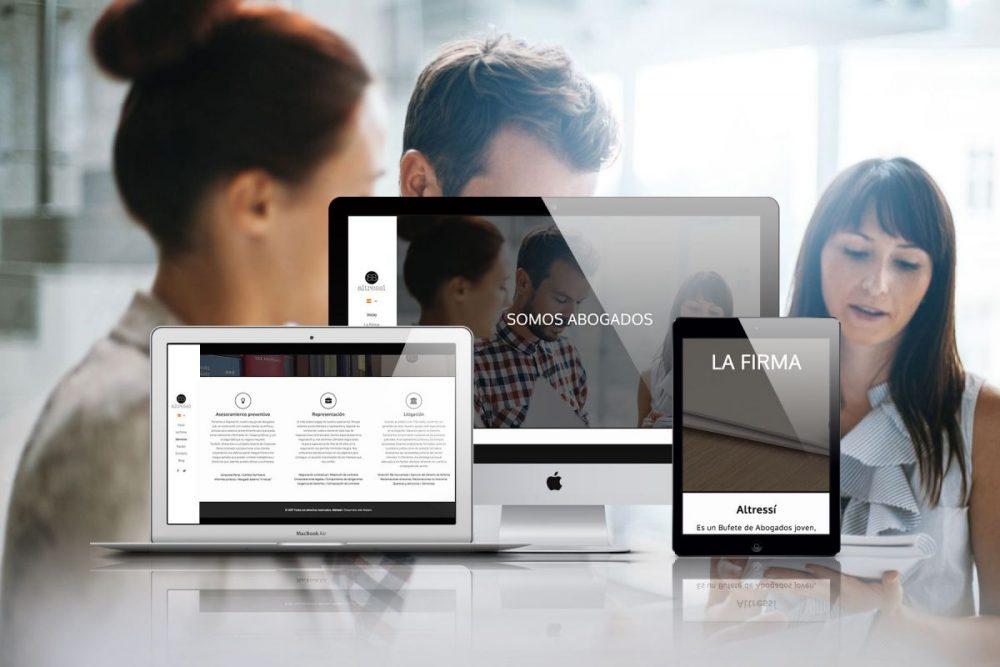 Diseño web para Altressi Abogados